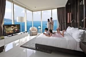 nghỉ dưỡng tại căn hộ khách sạn
