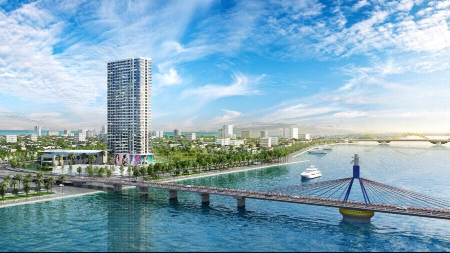 phoi canh du an vinpearl riverfront condotel da nang