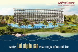 Dự án căn hộ khách sạn Movenpick Phú Quốc: Vốn thấp – Sinh lời 330 triệu/năm