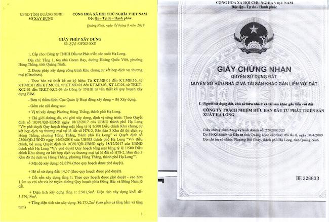 Pháp lý căn hộ Hạ Long Citadines Marina Halong