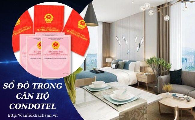 sổ đỏ trong căn hộ condotel như thế nào?